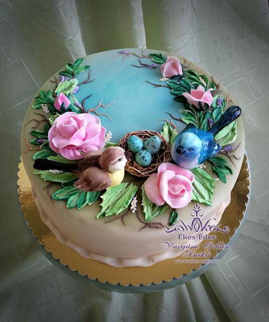 torta glazúrozás