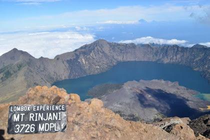 Lombok Experience, MT. Rinjani  3726 MDPL