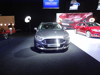 Ford Mondeo 2013 front