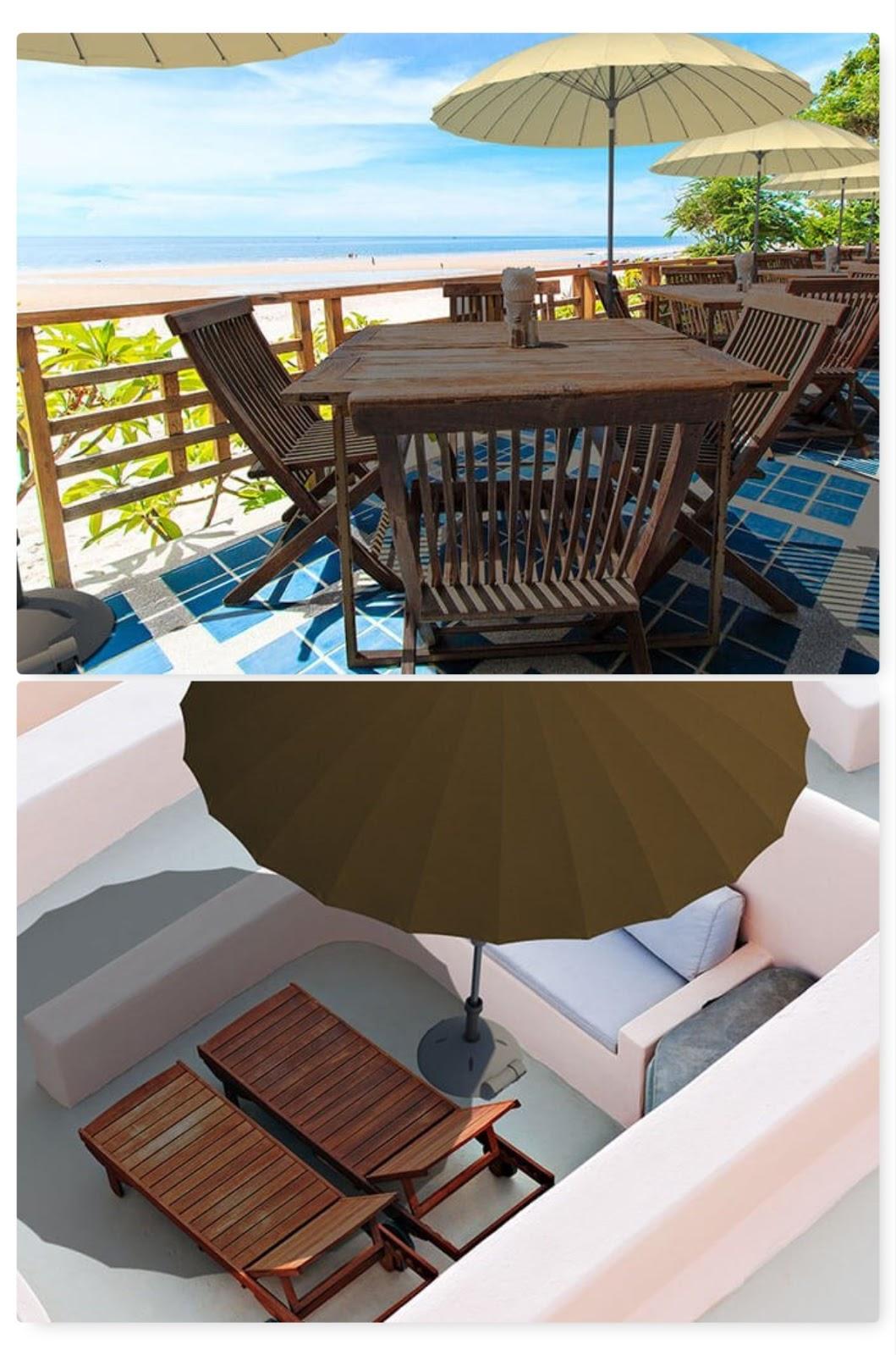 Sonnenschutz für Terrasse Balkon und Garten mit Solero Sonnenschirm