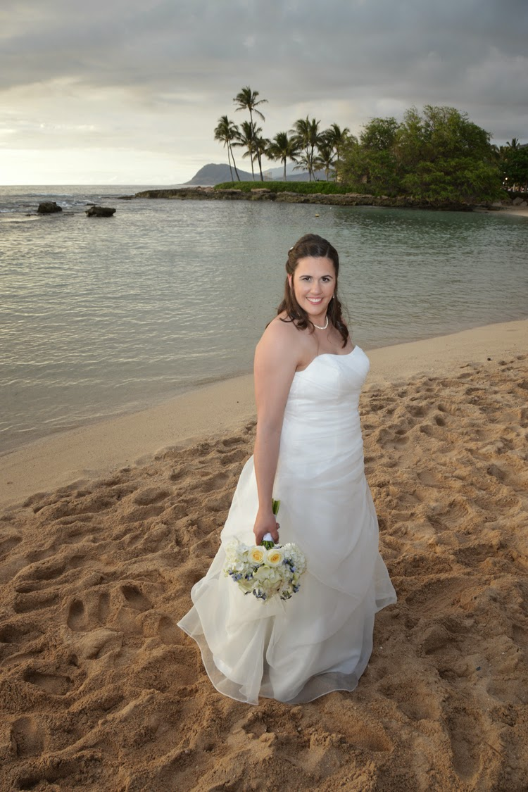 Paradise Cove Beach Bride