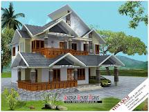 Kerala House Design Porch