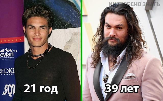 Как знаменитости выглядели в 21 год и как они выглядят сейчас