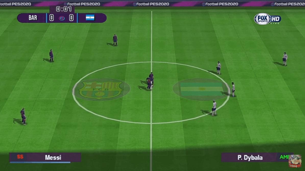 تحميل لعبة Efootball Pes 2020 على محاكي Ppsspp اخر تحديث