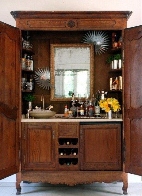The Inspired Designer Pretty Cocktail Bars For Small Spaces