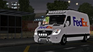 Mercedes Sprinter Long 2015 (0.9 version) (BETA)