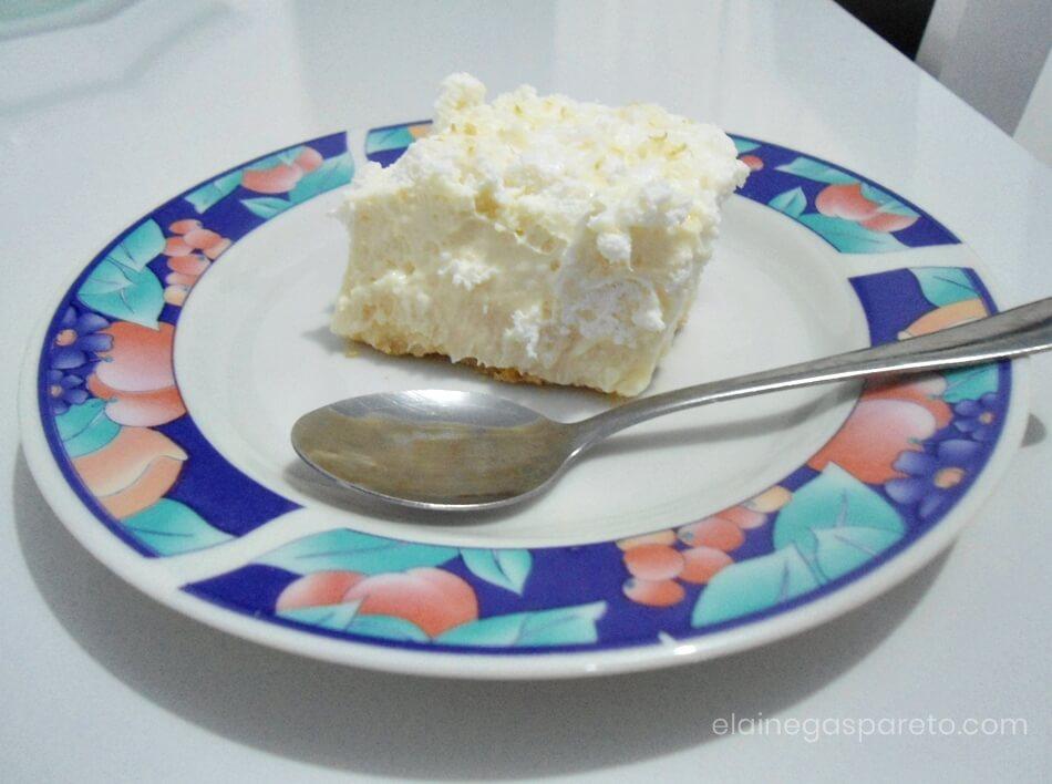 Torta de limão fácil e rápida