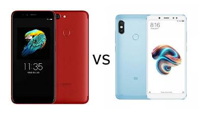 Lenovo S5 vs Xiaomi Redmi Note 5 Pro