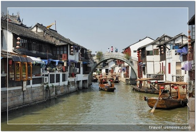 Zhujiajiao  - Top 7 Best Places to Travel in Shanghai, China at Least Once in Your Life Time