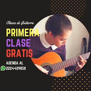clases de guitarra puebla gratis