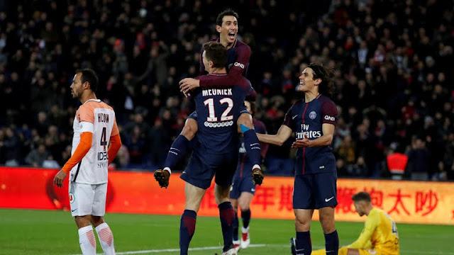 ملخص اهداف مباراة باريس سان جيرمان ومونبلييه (4-0)(27-01-2018) شاشة كاملة