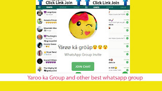 Yaroo ka Group and other best whatsapp group