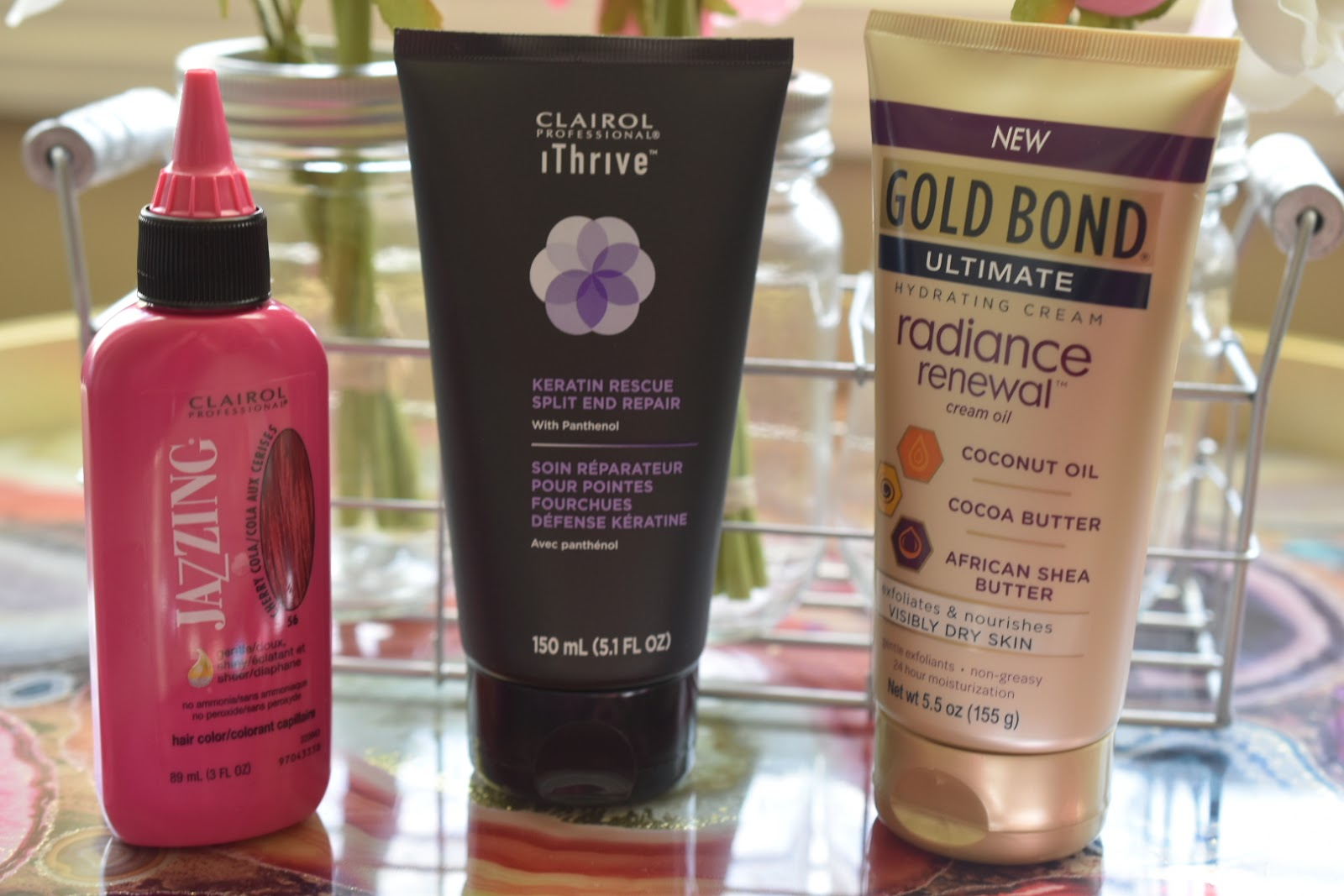 Influenster's Dazzle VoxBox Review: Clairol Professional and GOLD BOND  via  www.productreviewmom.com