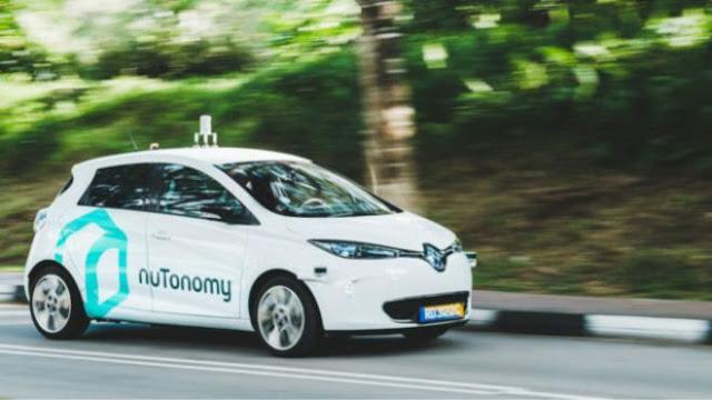 Nutonomy Taksi Pertama di Dunia yang Bisa Menyetir Sendiri