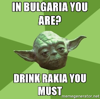 Yoda on Rakia