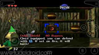 Deku Shield - Zelda : Ocarina Of Time