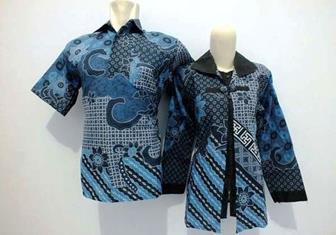 Contoh Baju Batik Seragam Para Guru