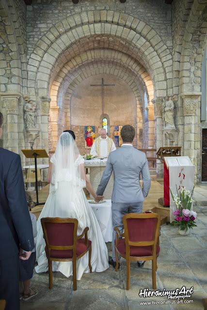 Les mariés à Locmariaquer