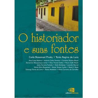 livro O Historiador e Suas Fontes promoção
