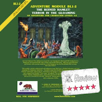 Frugal GM Review: The Ruined Hamlet by Barrataria Games