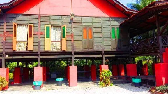 Homestay Kuala Sungai Baru Melaka rumah kampung lama