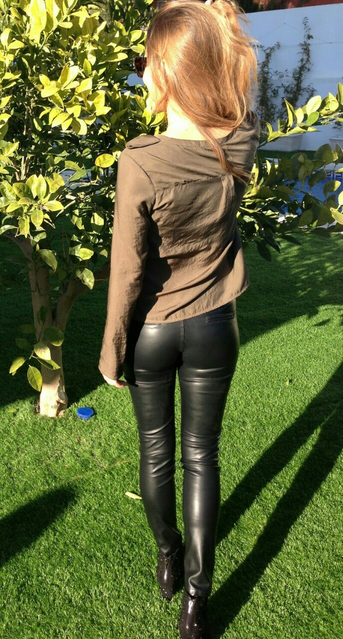 Lovely Ladies In Leather Leathershiny Ass Part 8-4150