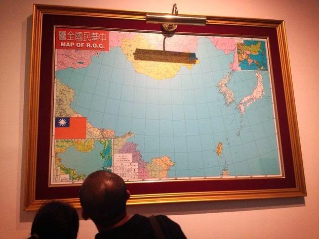 椰子樹下打盹的哲學家: 中華民國全圖