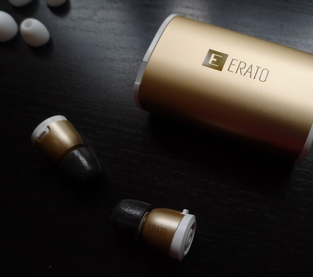 Erato Apollo 7 true wireless earbuds - Gold