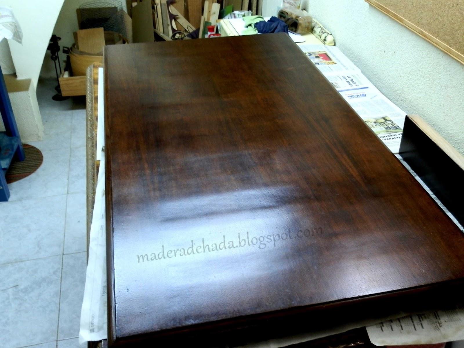 Como quitar la pintura a un mueble de madera madera de hada for Quitar pintura de madera