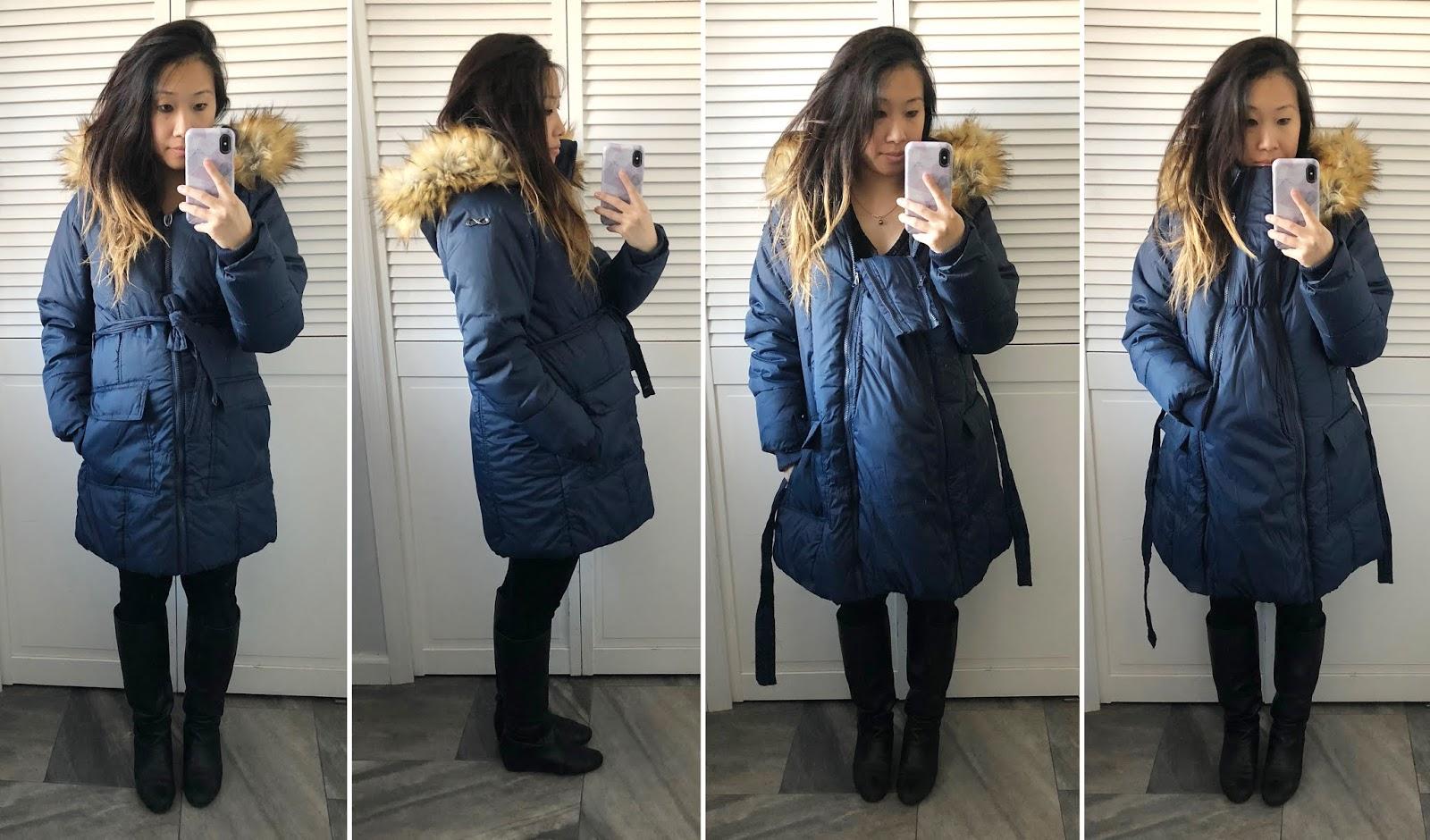 October Haul Maternity Coat Shopping