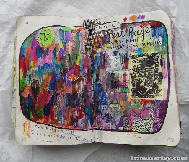 Wreck this Journal -  Use this as a test page