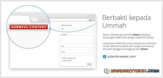 Salam Browser - Berbakti Kepada Ummah