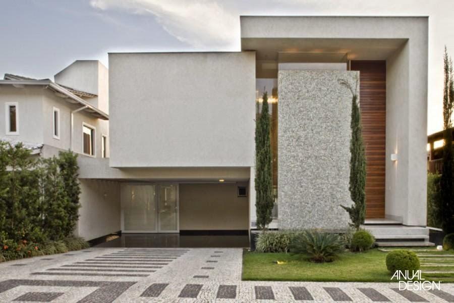 Fachadas de casas de sobrados veja 50 modelos lindos for Casa moderna 8