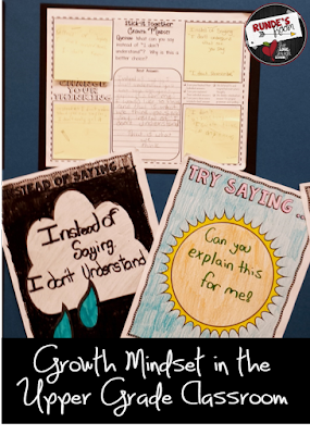 Growth Mindset in the Upper Grade Classroom