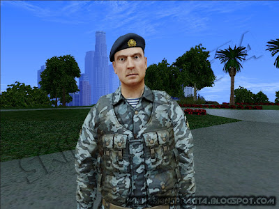 GTA SA - Skin Rogue Warrior Russian