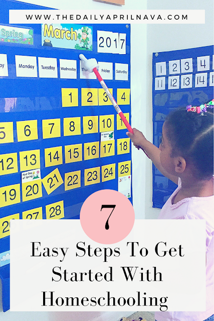 7 Easy Steps To Get Started With Homeschooling
