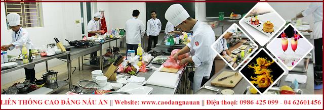 Liên thông cao đẳng nấu ăn 2016