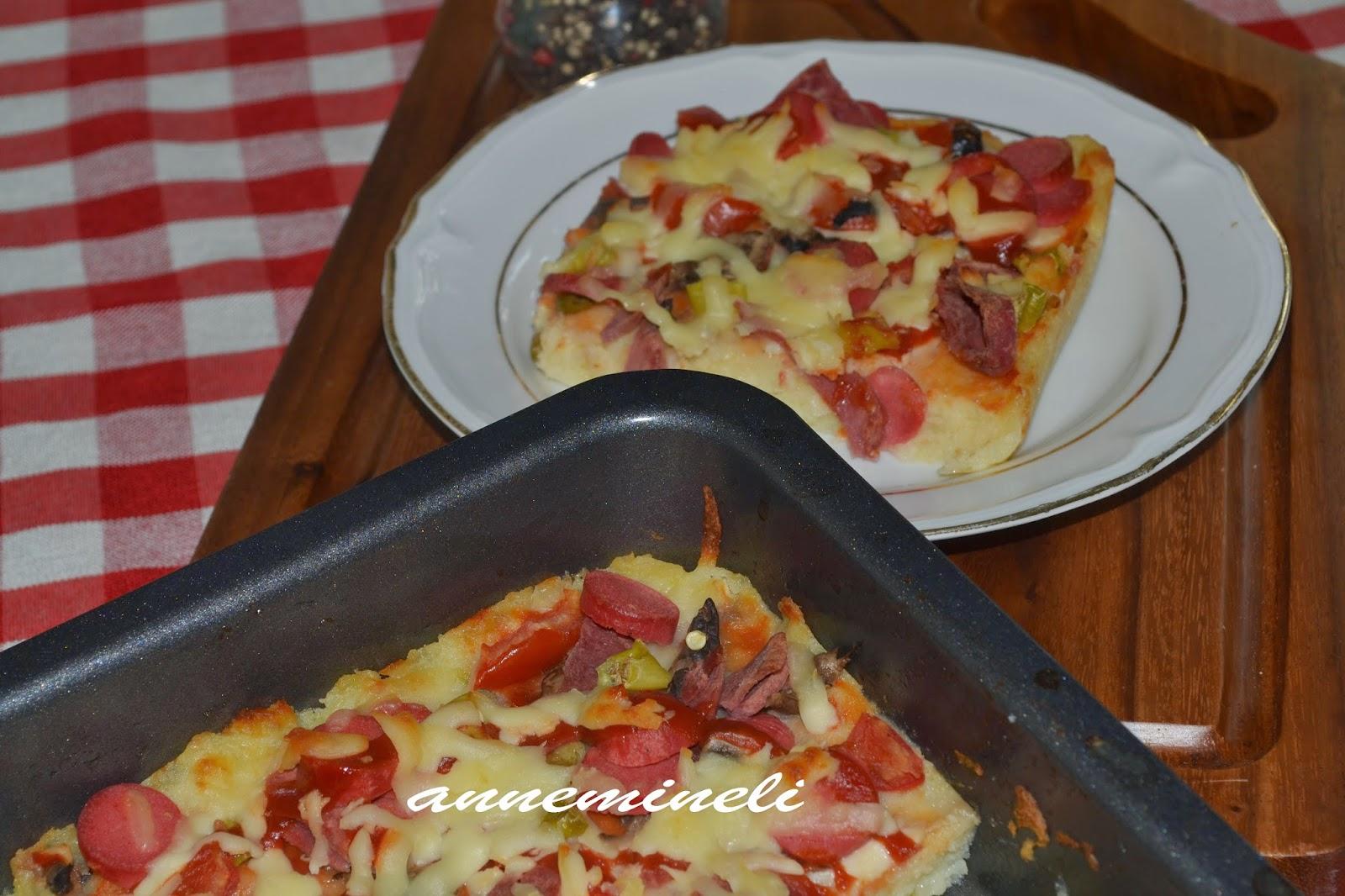 Tatlı patates pizza tarifi