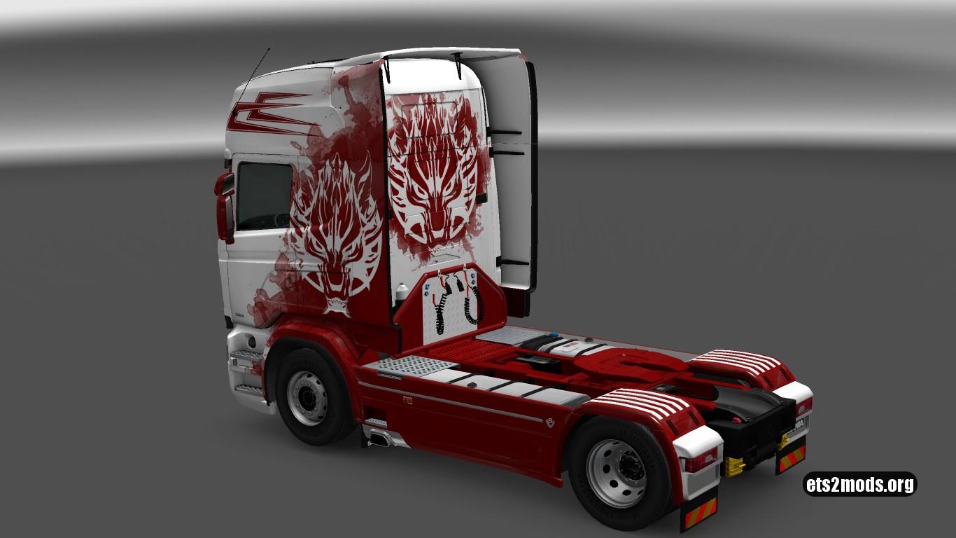 Fenrir Skin for Scania RJL