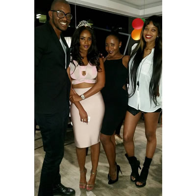 bbafrica 2016 Dillish Mathews Birthday celebrations photos