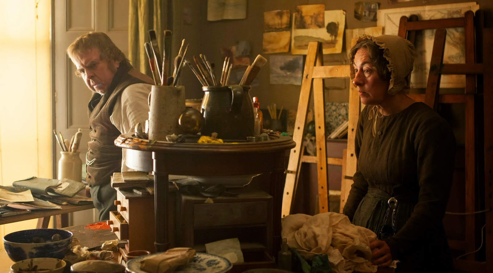 Fotograma: Mr. Turner (2014)