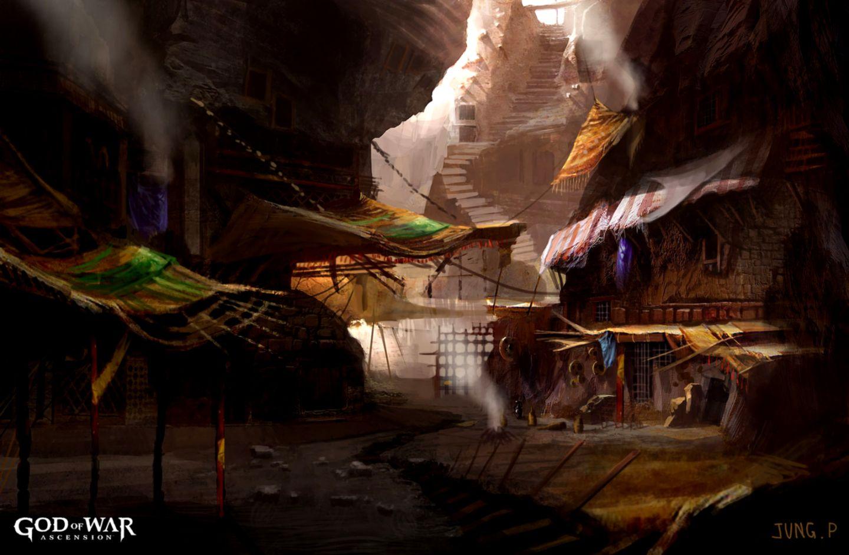 God Of War Ascension Desktop Hq Arenas Best Hd Wallpapers