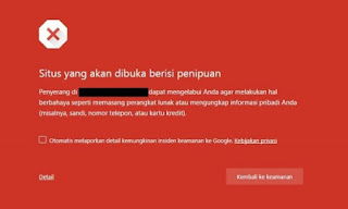 Cara Unik Cek Keamanan Penelusuran Situs Blog Websiter | Kawan Unik