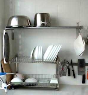 Kitchen Cabinet Wok Storage