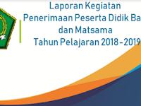 Contoh Laporan Penyelenggaraan PPDB dan MATSAMA