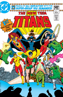 The New Teen Titans (1980) #1 Cover
