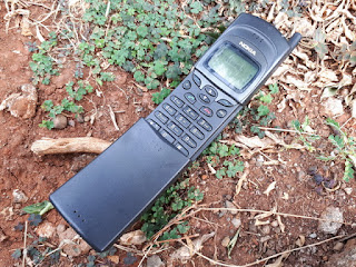 Hape Jadul Nokia Pisang 8110 Langka Mulus Normal Kolektor Item