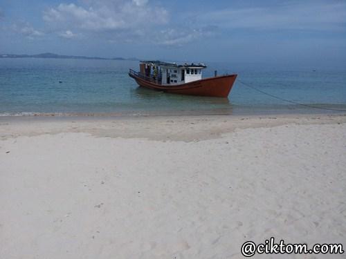 Percutian Bulan Madu 2H1M Santai di Pulau Kapas