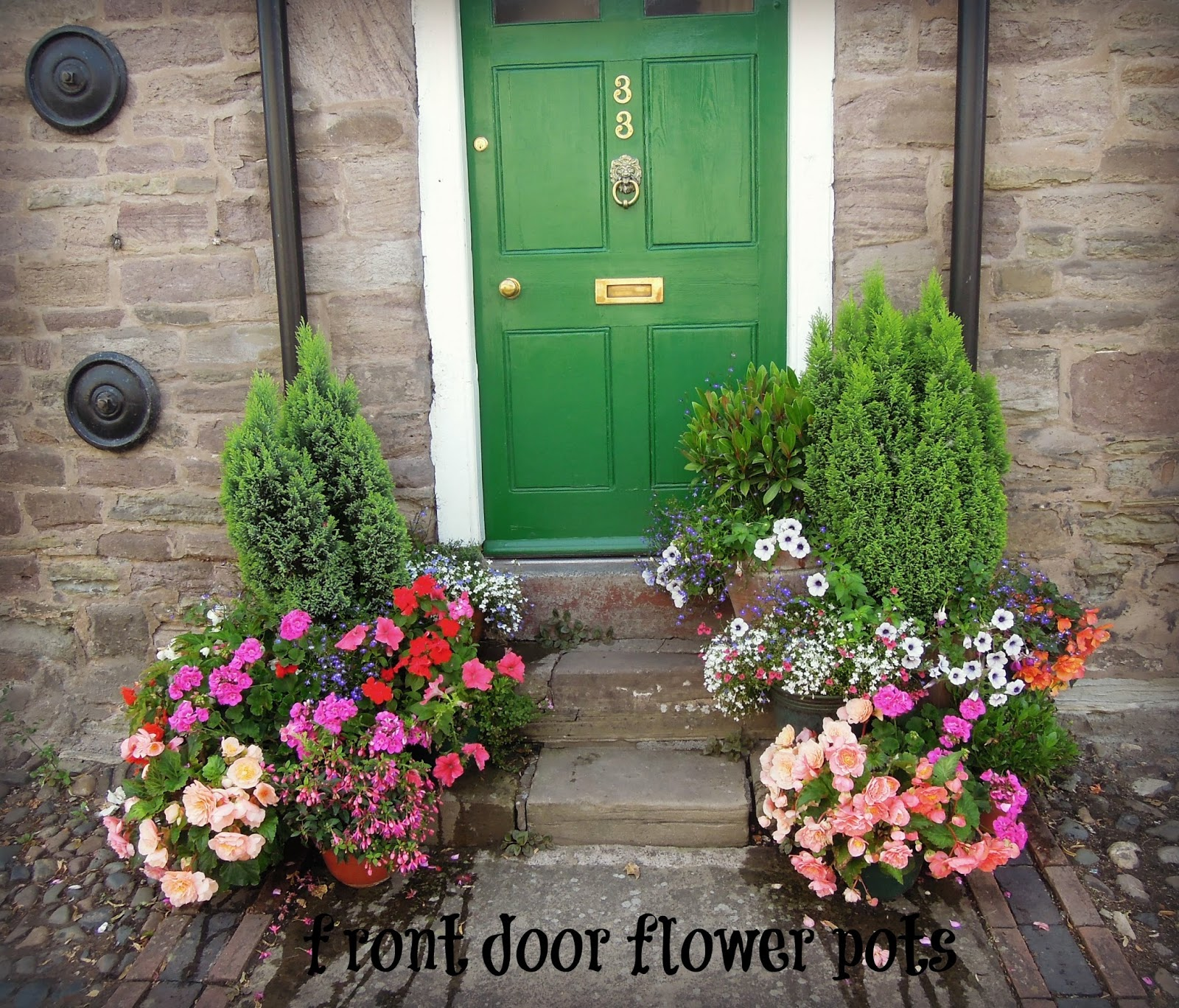 Flowers For Front Door: 1000+ Images About Flower Pots On Pinterest