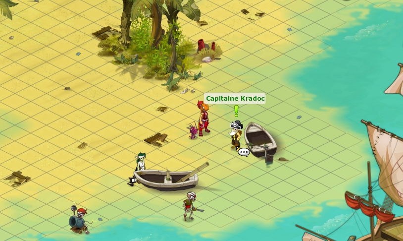 comment aller sur l'ile des naufragés dofus 2.0